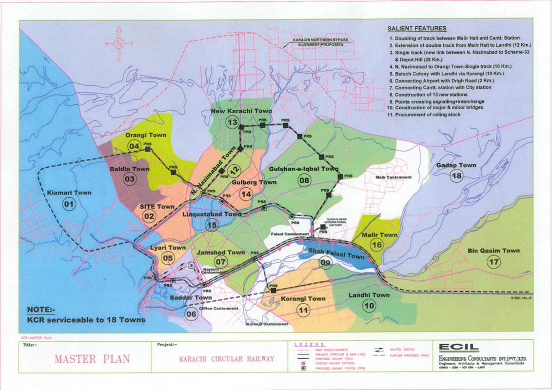Karachi Mass Transit & Road Networks
