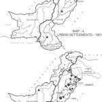 Urban Settlement Map - 1951 & 1998