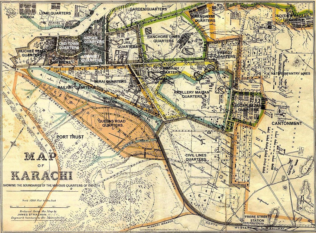 Historical Maps of Karachi