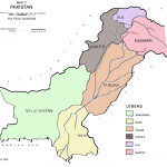 Pakistan Map - Political Divisions