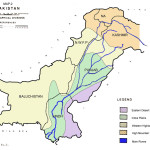 Pakistan Map - Geographical Divisions
