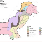 Pakistan Map - Agro & Ecological Regions