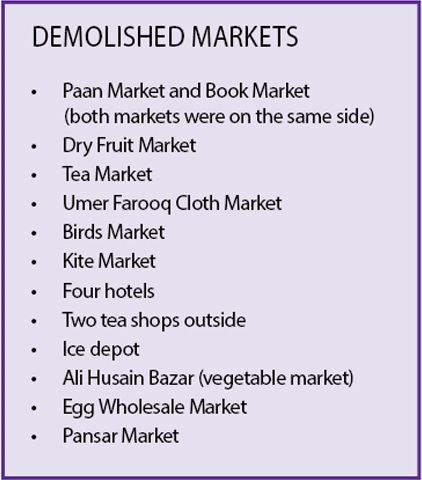 demolished markets